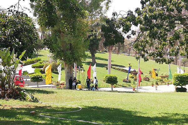 الحديقة الدولية بالقاهرة